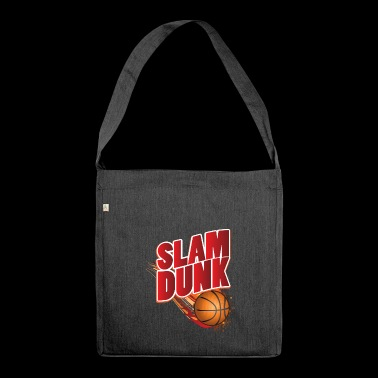 T-shirt da basket - Slam Dunk con una palla - Borsa in materiale riciclato