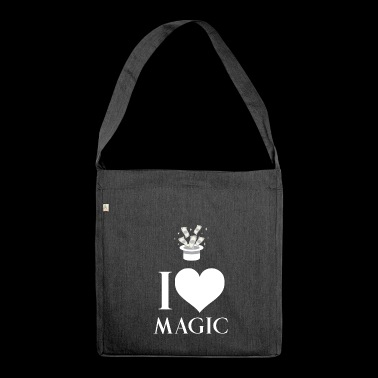 Magician - Sorcery - Magic - Magic Hat - Spellcasting - Shoulder Bag made from recycled material