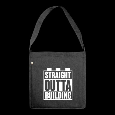 Building Block - Building Blocks - Building - Straight Outta - Shoulder Bag made from recycled material