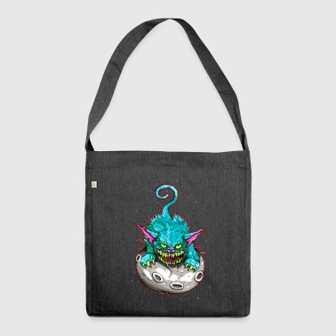 SPACE CAT - Schultertasche aus Recycling-Material