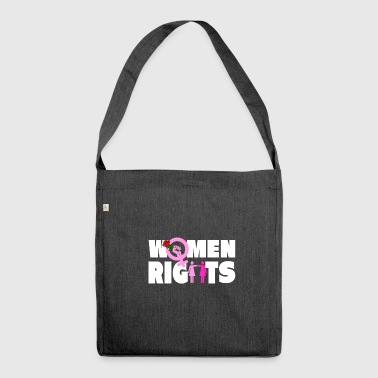Women Rights Shirt - Gift - Shoulder Bag made from recycled material