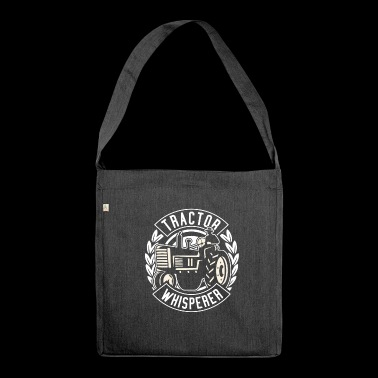Tractor Shirt · Agriculture · Whisperer - Shoulder Bag made from recycled material
