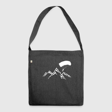 Paragliding - paragliding - paragliding - Shoulder Bag made from recycled material
