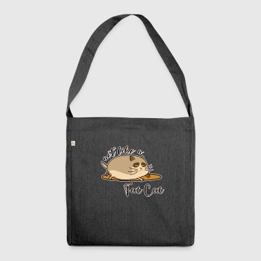 Fat Cat - Fat cat - Shoulder Bag made from recycled material