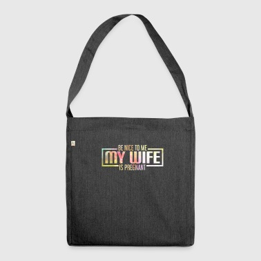 Husband, Gentleman, Married Man, Guys, Father - Schultertasche aus Recycling-Material