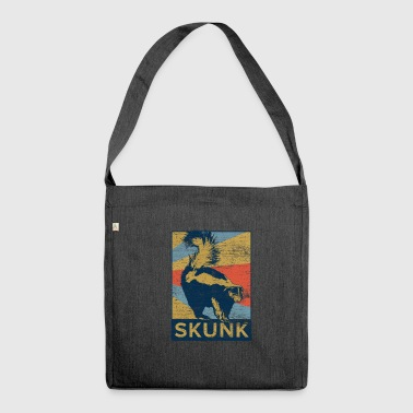 skunk - Shoulder Bag made from recycled material