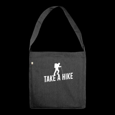 Take A Hike - Shoulder Bag made from recycled material