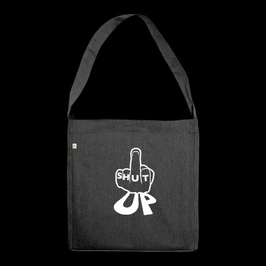 Hold your face, flap, muzzle, mouth - Shoulder Bag made from recycled material