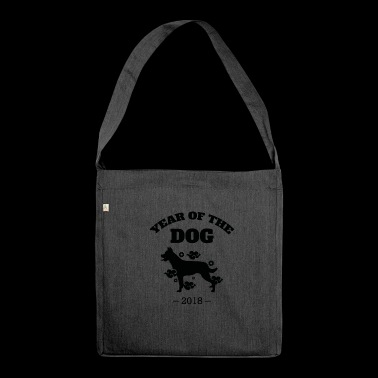 Cool Year of The Dog 2018 Chinese New Year T-Shirt - Shoulder Bag made from recycled material
