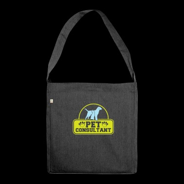 Pet Consultant - Shoulder Bag made from recycled material