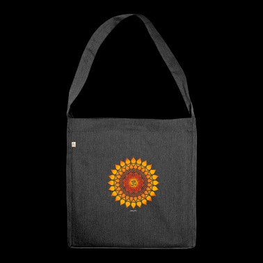Om sign Namah Shivaya Sanskrit Yoga Goa - Shoulder Bag made from recycled material