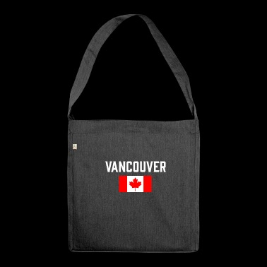 Vancouver Canada Flag British Columbia Canadian - Shoulder Bag made from recycled material