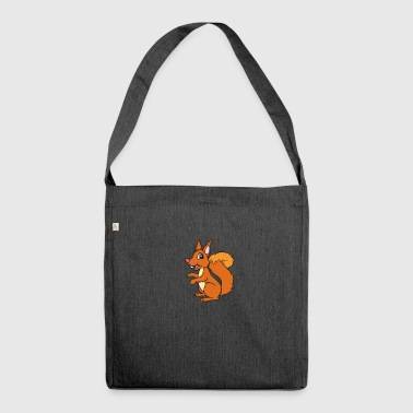 Squirrel - squirrel - Shoulder Bag made from recycled material