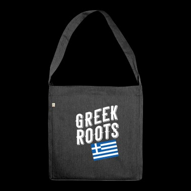 greek roots - Shoulder Bag made from recycled material