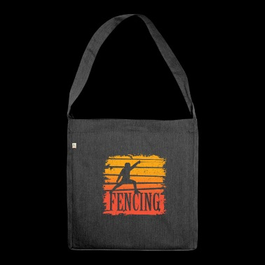 fencing - Shoulder Bag made from recycled material