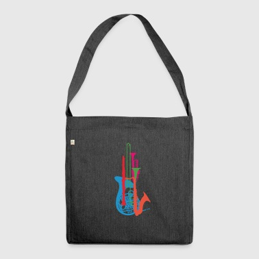 Wind Instruments - Shoulder Bag made from recycled material