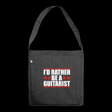 Guitar guitarist guitarist guitarist shirt - Shoulder Bag made from recycled material