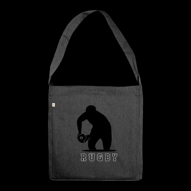 rugby - Shoulder Bag made from recycled material