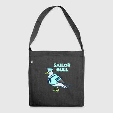 Seagull Seagull Seagull - Shoulder Bag made from recycled material