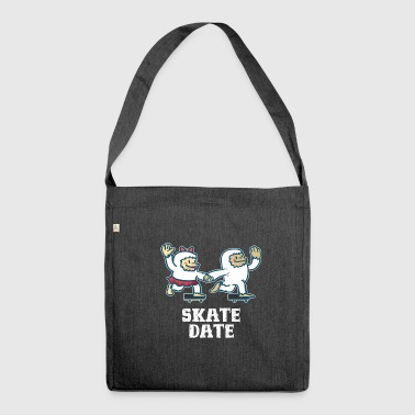 Skateboard skateboarding - Shoulder Bag made from recycled material