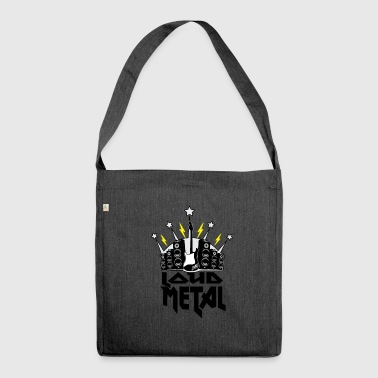 Metal - Shoulder Bag made from recycled material