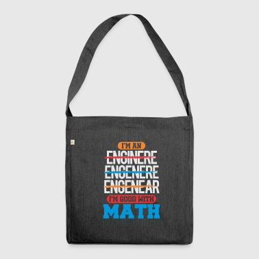 maths - Shoulder Bag made from recycled material