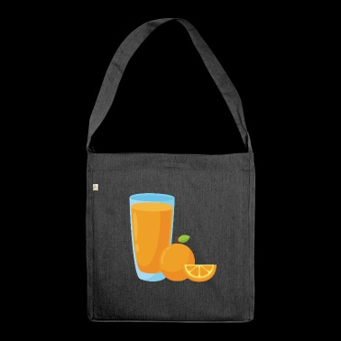 Orange Juice Orange Orange Juice - Shoulder Bag made from recycled material