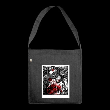 horror 1 - Schultertasche aus Recycling-Material