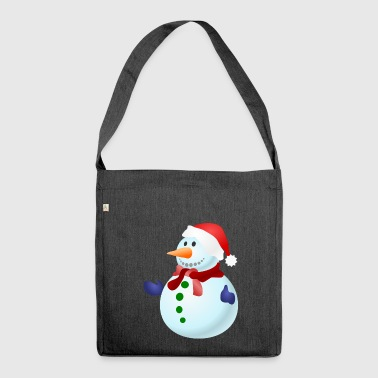 SNOWMAN - Shoulder Bag made from recycled material