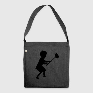hammer child - Shoulder Bag made from recycled material