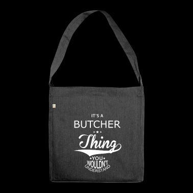 Butcher - Shoulder Bag made from recycled material
