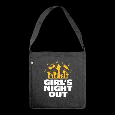 Girls Night Out! - Shoulder Bag made from recycled material