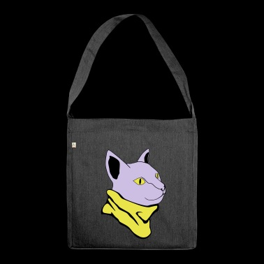 chilly cat / chilly cat - Shoulder Bag made from recycled material