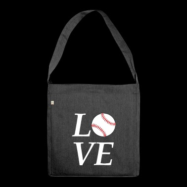 Baseball - Softball - Shoulder Bag made from recycled material