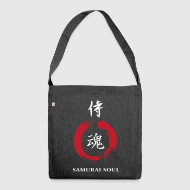 Kanjii Samurai Soul - Shoulder Bag made from recycled material