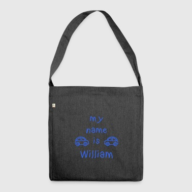 WILLIAM MY NAME IS - Sac bandoulière 100 % recyclé