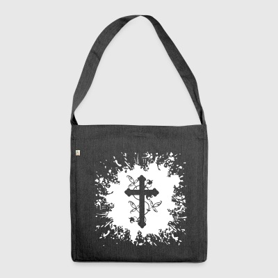 Cross Splash - Shoulder Bag made from recycled material