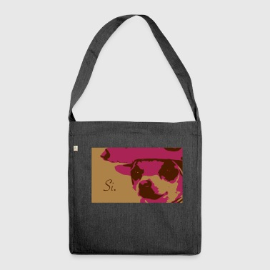 Spanish Dog - Shoulder Bag made from recycled material