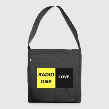 RADIO ONE LOVE - Schultertasche aus Recycling-Material