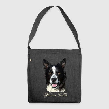 Border Collie, Colli, Herding Dog, Agility, Purebred Dog, - Shoulder Bag made from recycled material