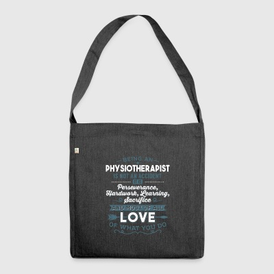 Love what you do - Physiotherapist - Schultertasche aus Recycling-Material
