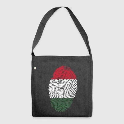HUNGARY / HUNGARY - Shoulder Bag made from recycled material