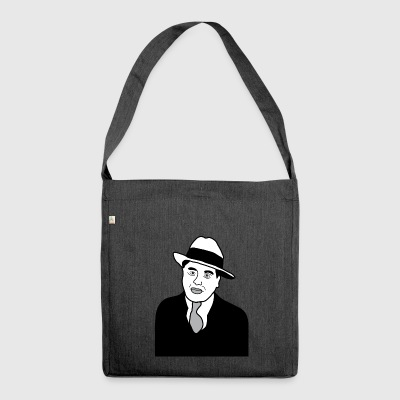 Big Al Capone mafia gangster brandy de New York - Sac bandoulière 100 % recyclé