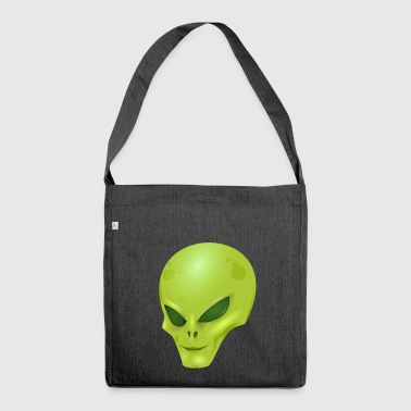 Alien scifi alieno - Borsa in materiale riciclato