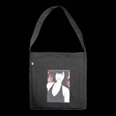 Woman Sex Symbol Gift Asia Father's Day Bombshell - Shoulder Bag made from recycled material