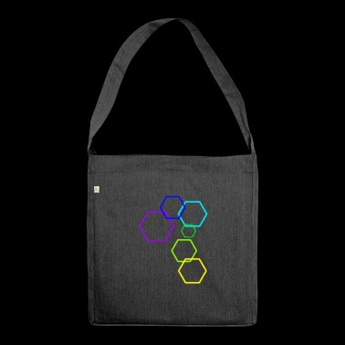 The construct [Hexagon] - Shoulder Bag made from recycled material