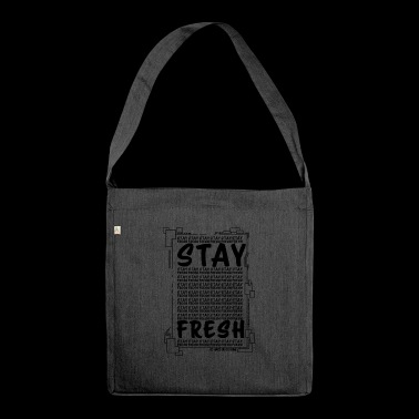 Funny - Funny - Stay Fresh - Shoulder Bag made from recycled material