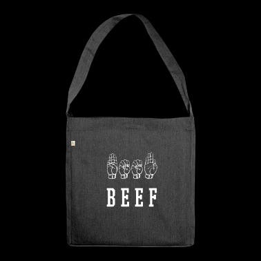 Beef - Shoulder Bag made from recycled material