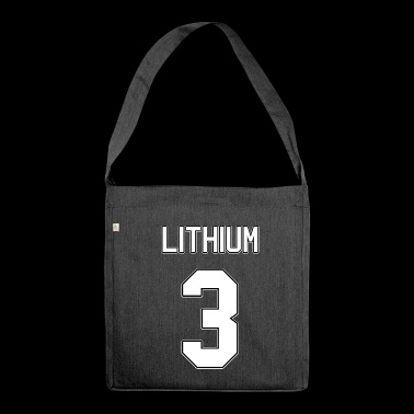 Element lithium - Shoulder Bag made from recycled material