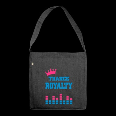 trance royalty - Shoulder Bag made from recycled material